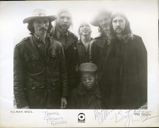 signed rock photos