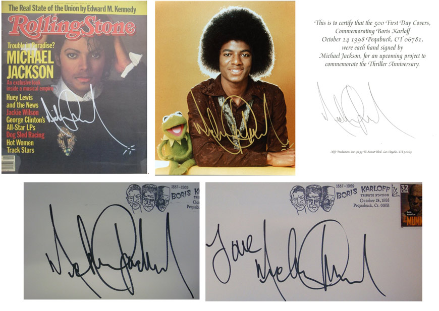 Epperson article on Michael Jackson autograph